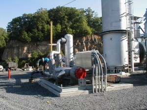 Natural Gas Dryer and Metering
